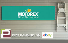 Motorex Oil Banner, For Track, Pit Lane, Office, Motorsport