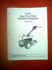 GILSON 5 CV POSTERIORE Rebbio ROTO TIMONE Manuale di servizio