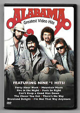 DVD / ALABAMA GREATEST VIDEO HITS (MUSIQUE CONCERT)