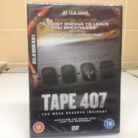 TAPE 407 [DVD2012) NEW & SEALED