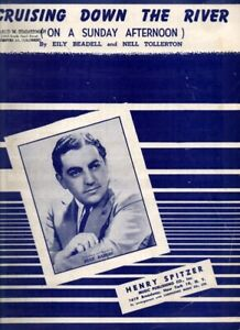 Cruising Down the River on a Sunday Afternoon Blue Barron sheet music