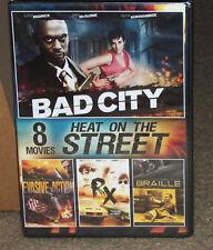 Heat on the Street 8 Movies Volume 3 DVD 2-Disc Set New
