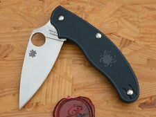 Spyderco C94PDBL UK Penknife, S110V, Dark Blue FRN