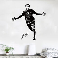 Football Player Messi Wall Decor Decal Sticker Removable Nursery Bedroom Mural