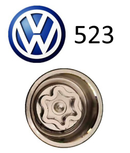 VW New Locking Wheel Nut Key Letter C, Code 523 with 17mm Hex