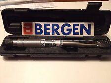 "Bergen Tools 1/4"" Dr Haga Clic Llave Dinamométrica Micrómetro 5 a 25Nm Pro Calidad B6758"