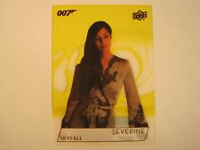 2019 Upper Deck James Bond 007 Trading Cards Berenice Marlohe Gold Acetate #193
