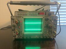 Tektronix 465B Oscilloscope with DM44, probes, manual