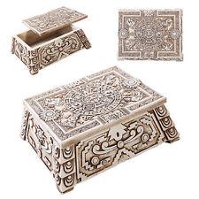 Mexican Aztec Mesoamerican Calendar Trinket Box Aztlan Tenochtitlan Maya Stone