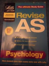 Revise AS Psychology by Letts Educational (Paperback, 2000)