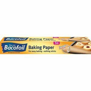 Bacofoil Baking Paper Parchment Paper Non Stick 5 Meter x30cm For Cooking Baking