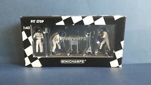 Williams F1 Jack Set by Minichamps, ref.343 100024 in 1/43 scale