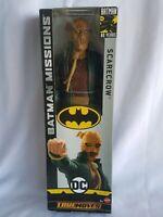 """DC SCARECROW True Moves 12"""" Inch Scale Batman Missions Figure Mattel GCK89"""