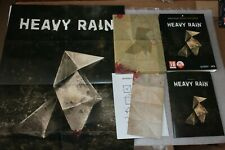 Heavy Rain  PC BOX + Artbook + Poster + Origami