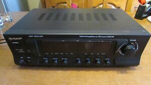 Amplificateur AUNA AMP-3800 Port USB Compatible MP3 • Fente SD • Noir