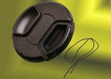 40.5mm Camera Front Lens Snap-on Pinch Cap Cover for Nikon Olympus Canon Fuji