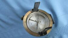 Brass & Glass Inclinometer Survey Type Instrument-Intact Glass-Sight Device Wire