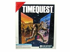 TIMEQUEST IBM TANDY PC TIME TRAVEL GAME BIG BOX RARE V1.0