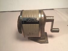 Vintage Berol Apsco Giant Pencil Sharpener