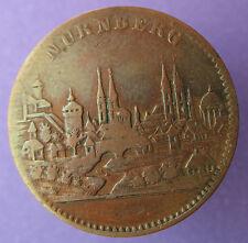 Old Rare Deutsche token- Nurnberg -(City view)- 15 pf - UNLISTED mehr am ebay.pl