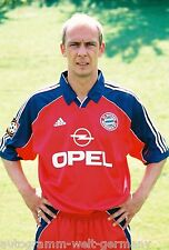 Mario Basler il Bayern Monaco 1999-00 RARO FOTO +2