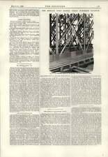 1890 Adjustment For Counter Braced Bars Newark Dyke Bridge Russian Volunteers