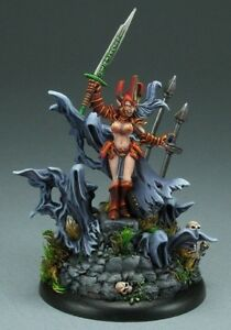 Wraith Queen Reaper Miniatures Dark Heaven Legends Undead Necromancer Caster