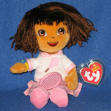 TY DORA del TENNIS BEANIE BABY - MINT with MINT TAG