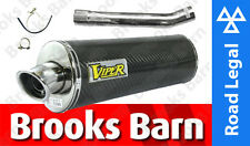 EXC501EM ZX-9R Ninja F 02/05/12 Viper Exhaust System + Link Pipe Can