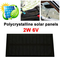 2W 6V Polysilicon DC Output Solar Generator Solar Light Camping