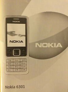 Nokia 6301 user manual / handbook