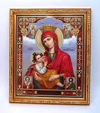 Ikone GM Amme икона Богородица Млекопитательница освящена 27x23x1,5 cm