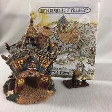 Boyds Bearly Built Villages Boyds Town Volunteer Firestation Style # 19007 2000