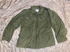 New ListingVietnam era M65 Field Jacket Od Green, Med Reg, 1974 Alpha Industries Usarmy
