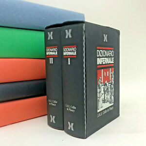Dizionario Infernale - Collin de Plancy - Xenia 1988 - 2 volumi