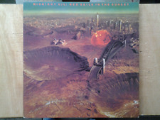 disque vinyle lp Midnight Oil. Red sails in the sunset
