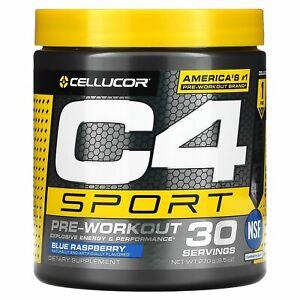 C4 Sport, Pre-Workout, Blue Raspberry, 9.5 oz (270 g)