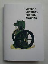 Lister Vertical Petrol Engines
