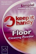 Floor Surface Cleaning Sachets  Powder Helps Remove Stains & Odours - 5 Sachets