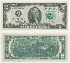EE. UU. the United States of America 2 dólares falla presión misprint error us rare (4