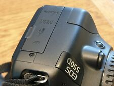 NICE CLEAN BLACK Canon EOS 550D Digital SLR Camera + charger + battery