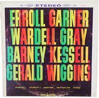 ERROLL GARNER / WARDEL GRAY / BARNEY KESSELL / GERALD WIGGIN LP 60s Jazz Quartet
