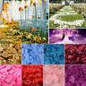 1000pcs Silk Rose Flower Petals Leaves Wedding Party Table Confetti Decoration