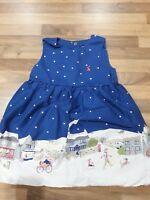 beautiful joules girls Christmas party dress age 2-3 years very good condition
