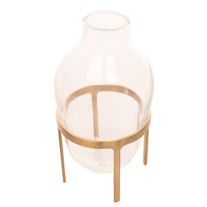RRP €220 PAOLA C. TITUS III Glass Vase MOUTH-BLOWN by Jaime Hayon Made in Italy