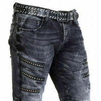 CIPO & BAXX NEW HAVEN JEANS DENIM SLIM FIT ALL SIZES