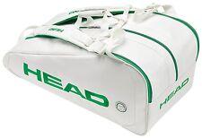 HEAD WIMBLEDON WHITE LIMITED EDITION MONSTERCOMBI tennis racquet bag - Reg $130