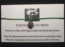 Prince Catcher Frog Handmade Wish Bracelet Unique Fairy Tale Charm