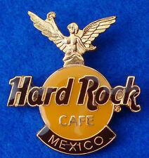 MEXICO CITY ANGEL DE LA INDEPENDENCIA GOLD STATUE DARK LOGO Hard Rock Cafe PIN