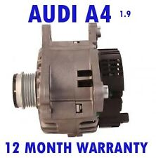 AUDI A4 1.9 TDI SALOON ESTATE QUATRO 2000 2001 - 2004 ALTERNATOR